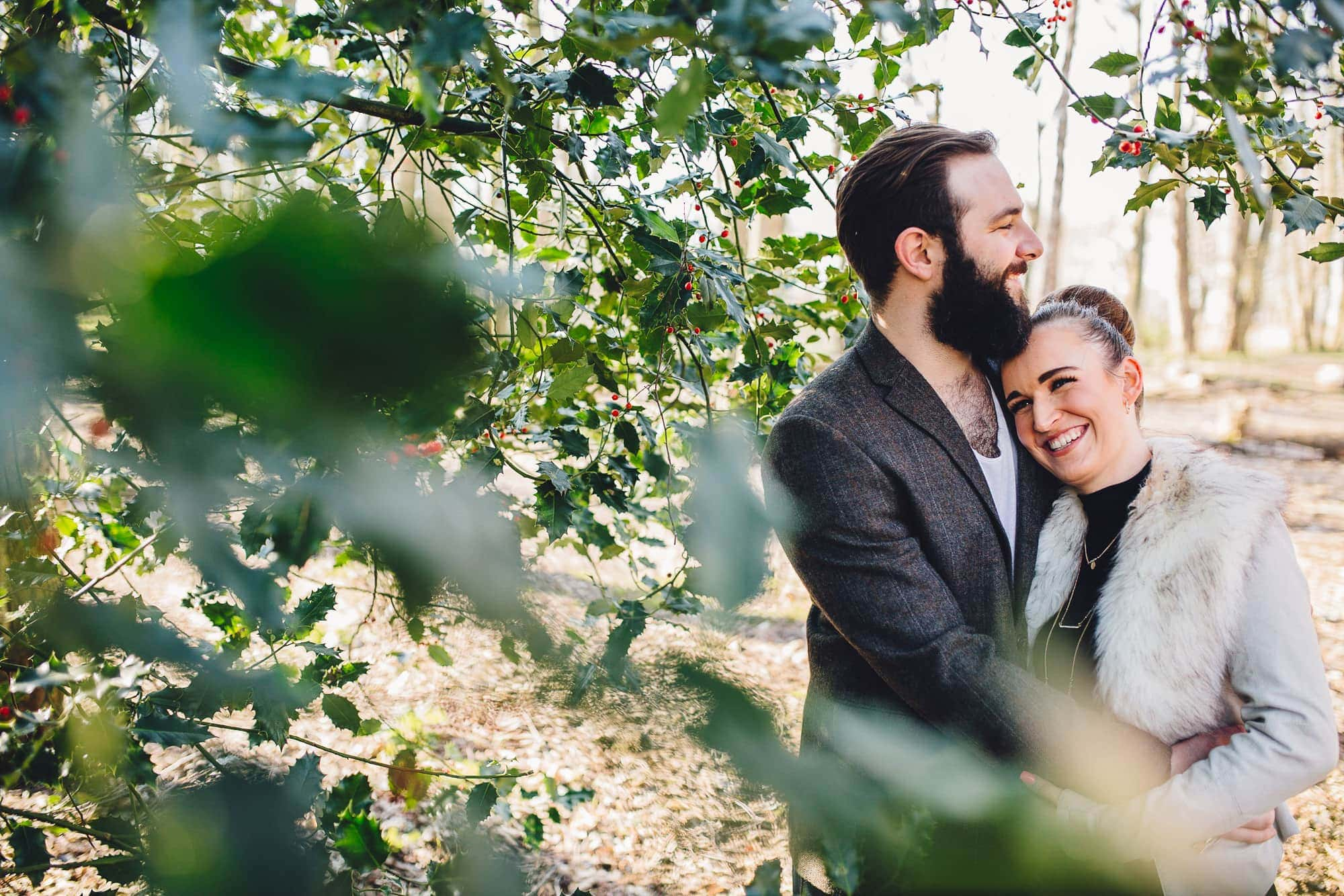 Coombe Abbey Pre Wedding Engagement Photoshoot – Donna & Chris