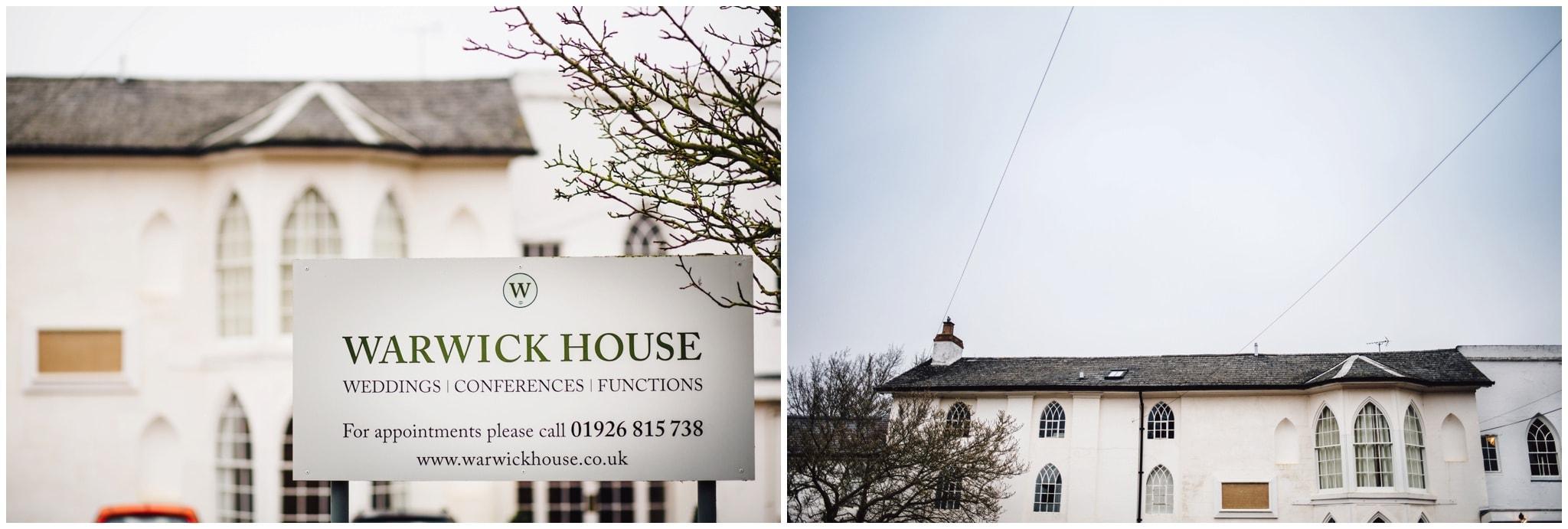 warwick house, southam