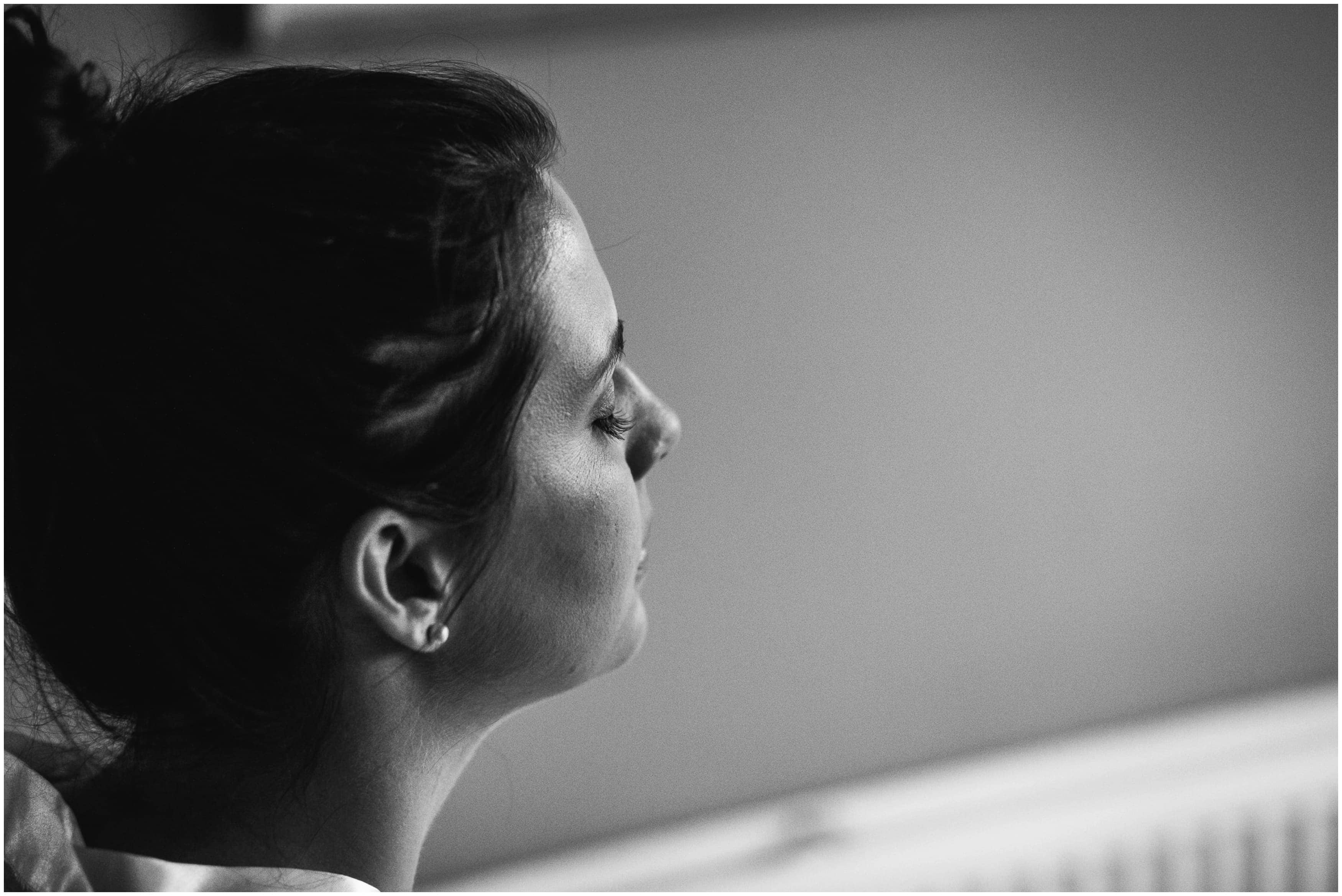 Bordesley Park Wedding Photographer - Bride Makeup