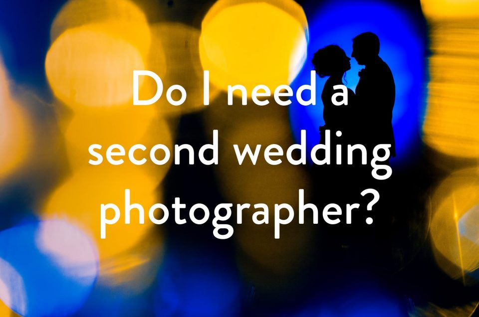 Do I need a second wedding photographer?