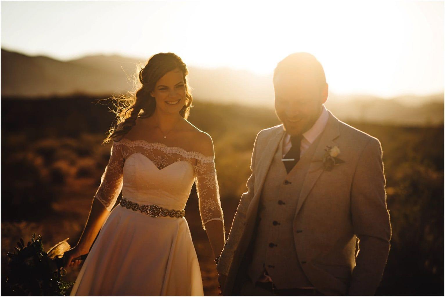 Las Vegas Valley Of Fire Wedding