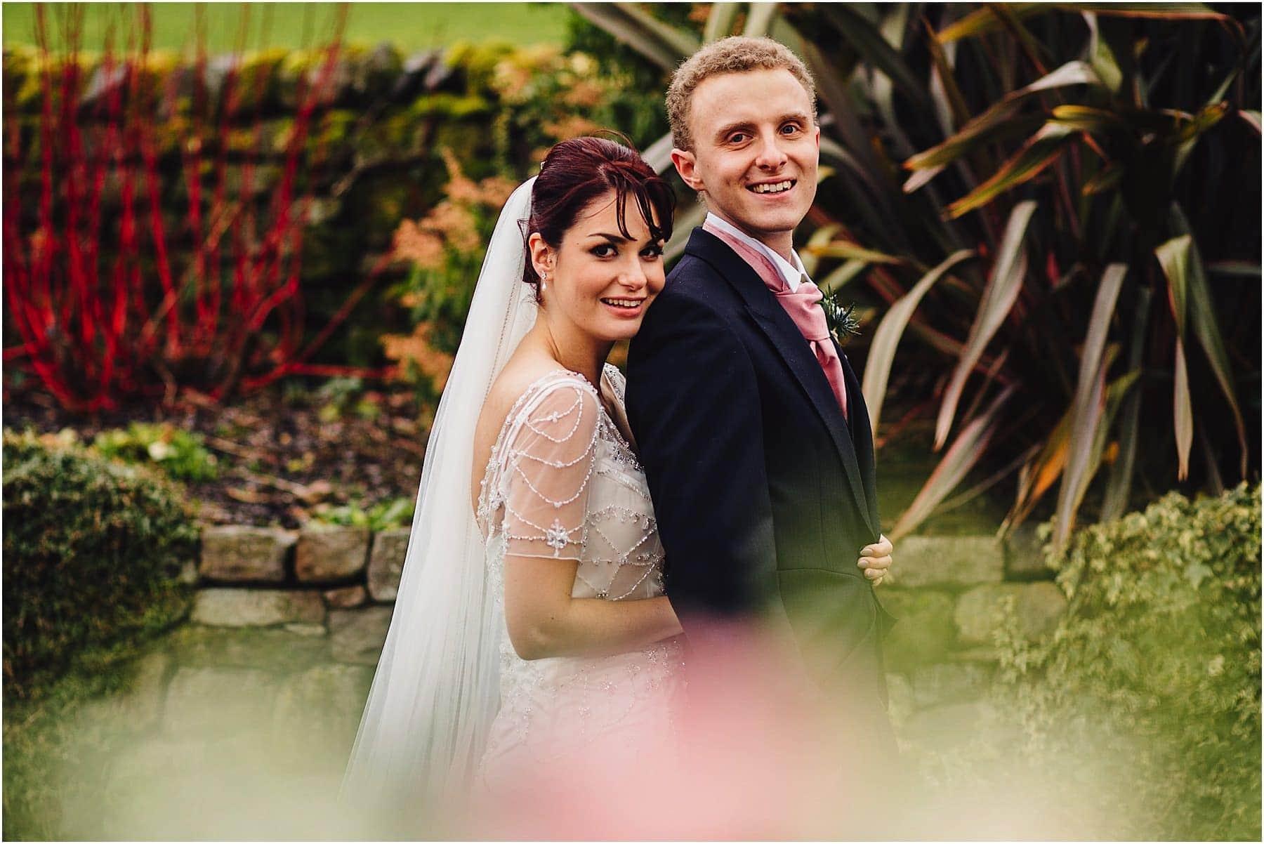 Ashes Wedding Barn Portrait