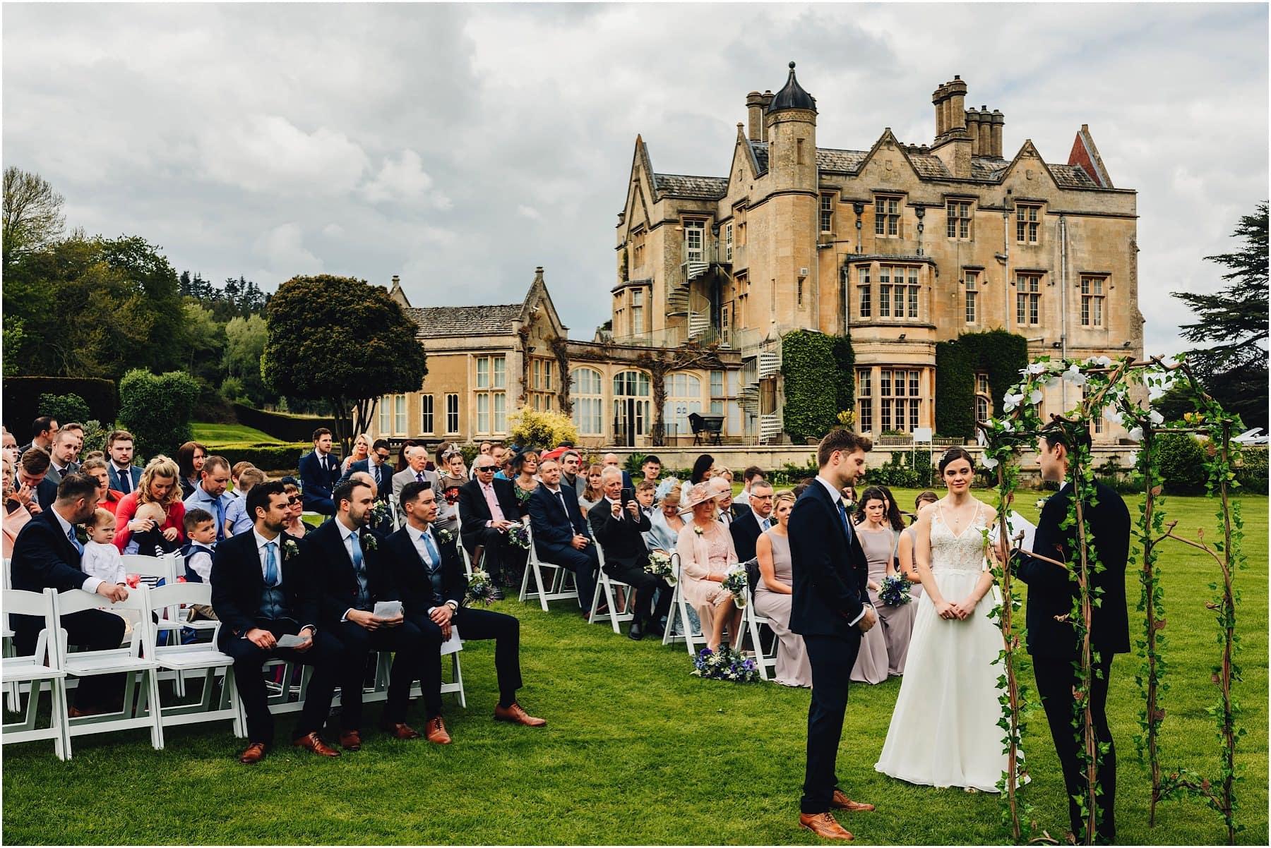 Dumbleton Hall Wedding Photographer