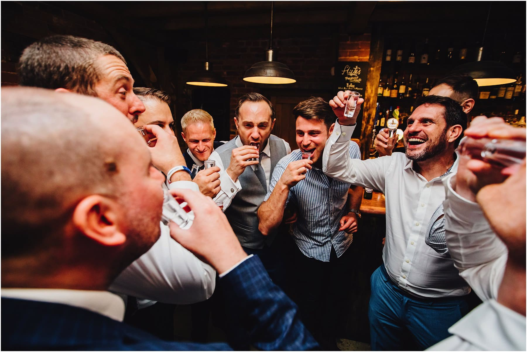 groomsmen drinking games