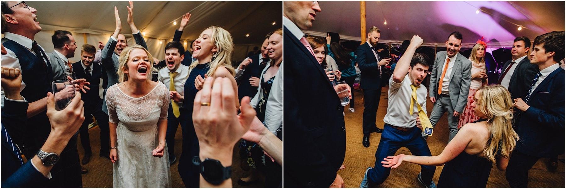 crazy dance floor at a wedding
