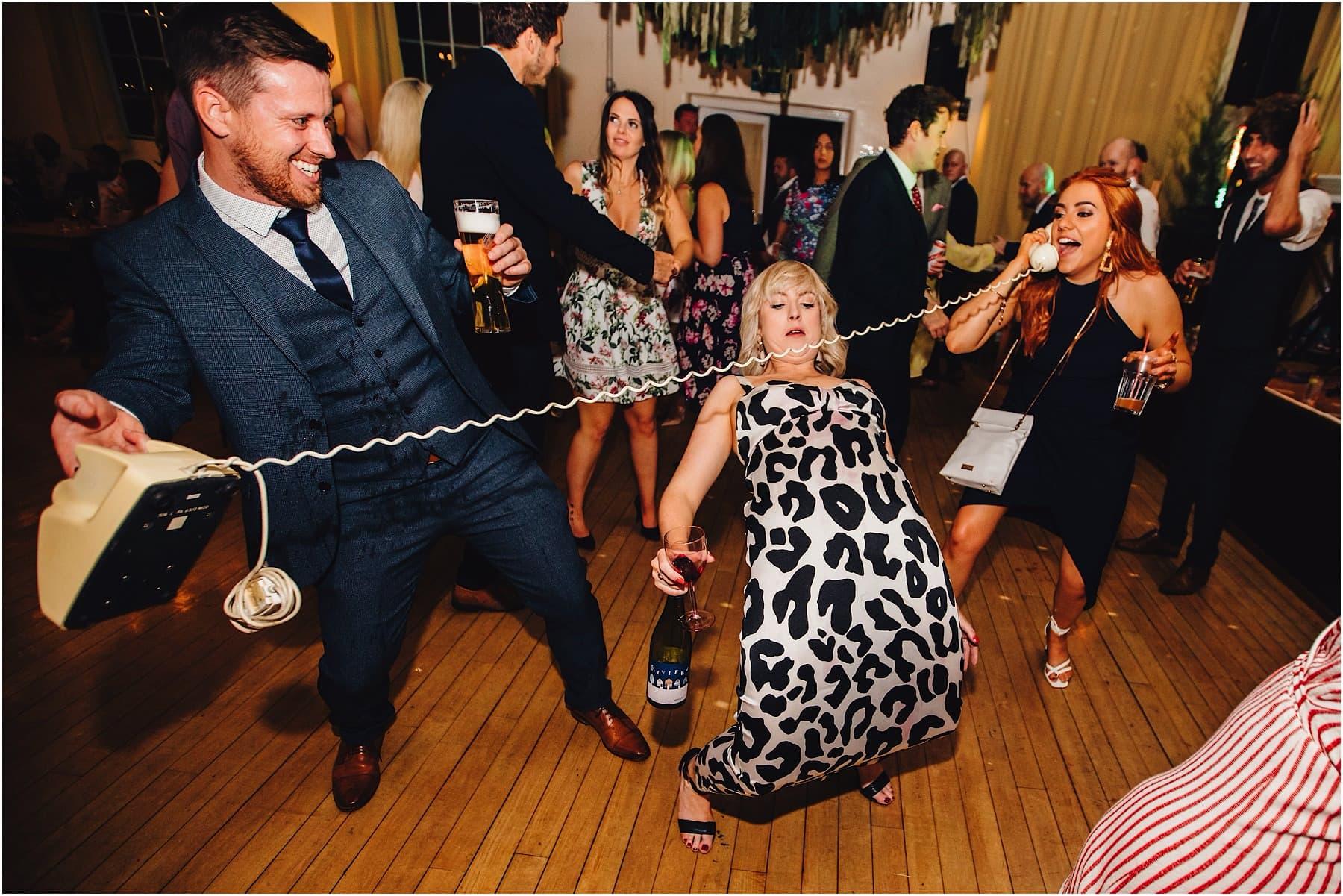 telephone call on the dance floor