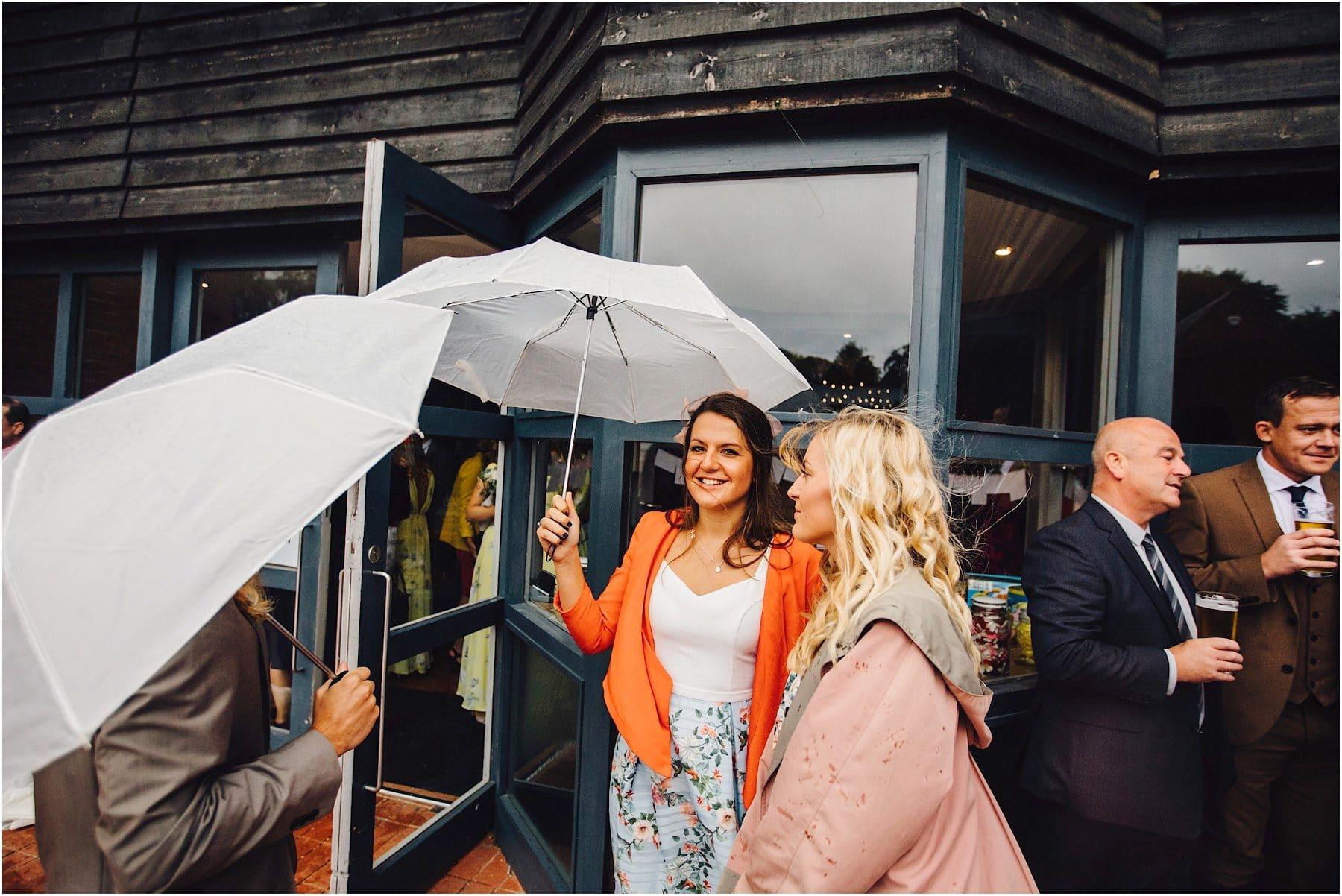 raining on wedding day