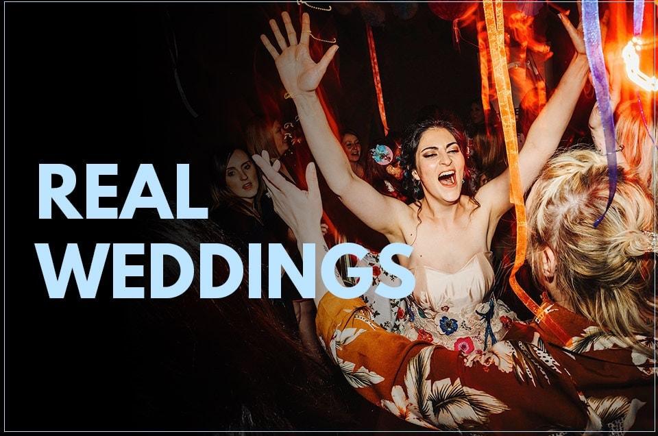 Epic & real Midlands Wedding dance-floor